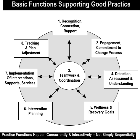 Basic Functions Supporting Good Practices